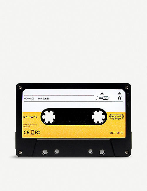 SUCK UK Wireless cassette speaker 6.9cm x 11.2cm