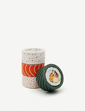 SUCK UK Sushi sticky tape pack of four