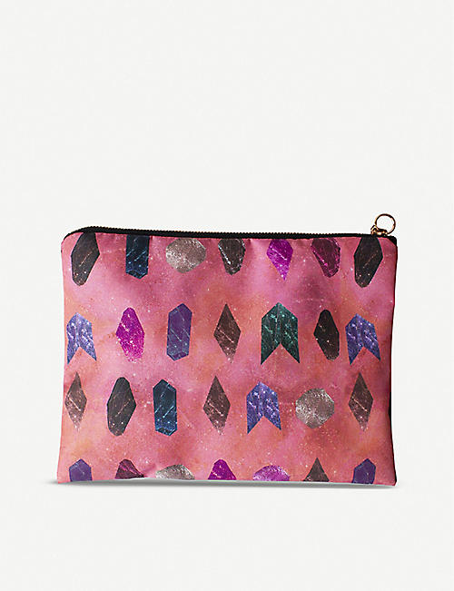 NIKKI STRANGE Crystal Healing waterproof travel cosmetics bag