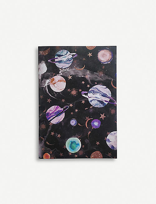 NIKKI STRANGE Galaxy paper notebook A5