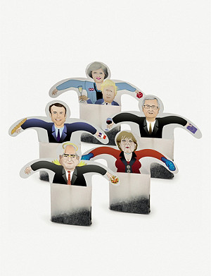 DONKEY PRODUCTS Tea party: European politics tea bag set of six