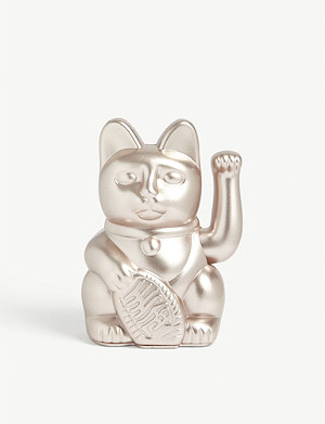 DONKEY PRODUCTS Moonlight lucky cat figurine 15cm x 10cm