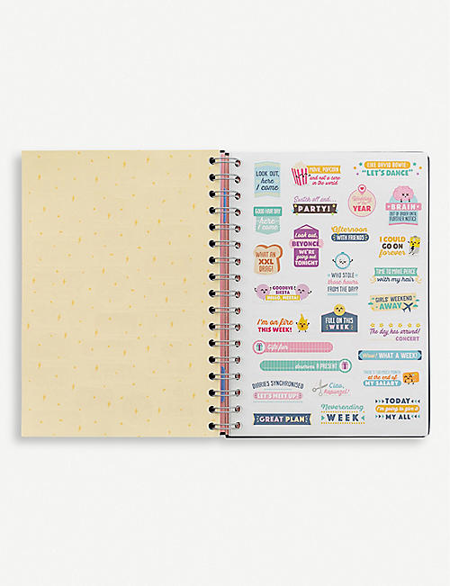 MR WONDERFUL Classic diary 2020 19.5cm x 14cm