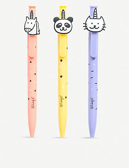 MR WONDERFUL Set of 3 animal pens