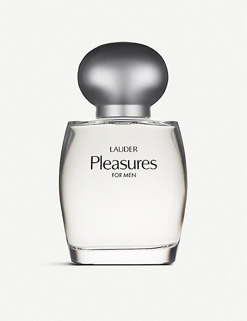 ESTEE LAUDER: pleasures for Men Cologne Spray 100ml