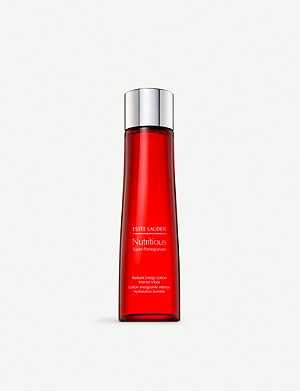 ESTEE LAUDER Nutritious Super-Pomegranate Radiant Energy Lotion Intense Moist 200ml