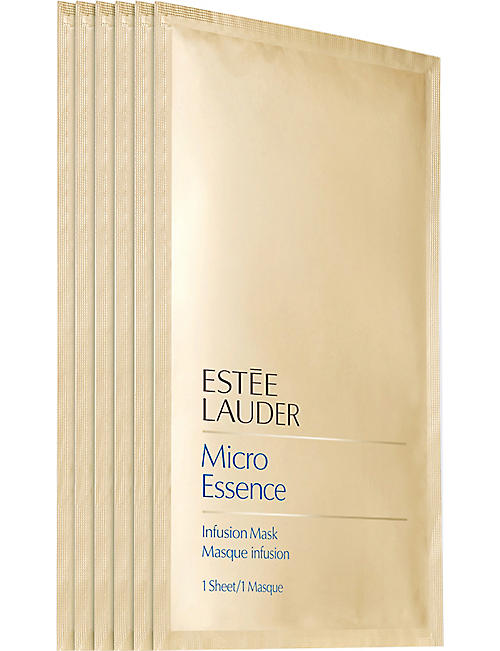 ESTEE LAUDER: Micro Essence infusion mask sheets 6 x 23ml