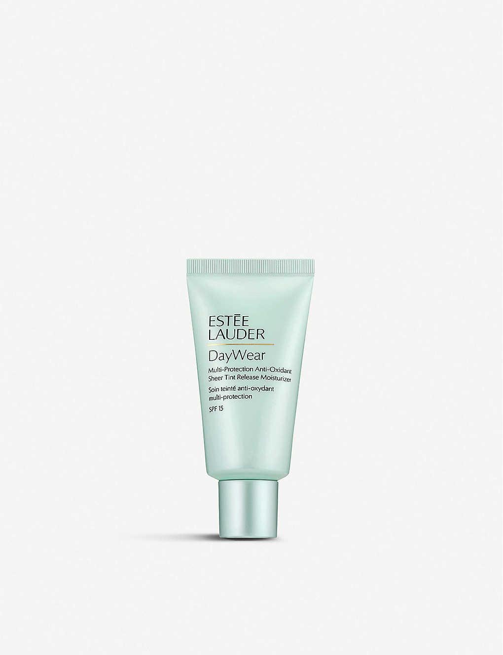 Estee Lauder Daywear Sheer Tint Release Advanced Multi Protection Anti Oxidant Moisturiser Spf15 15ml Selfridges Com