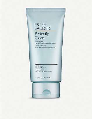 ESTEE LAUDER: Perfectly Clean Creme Cleanser/Moisture Mask 150ml