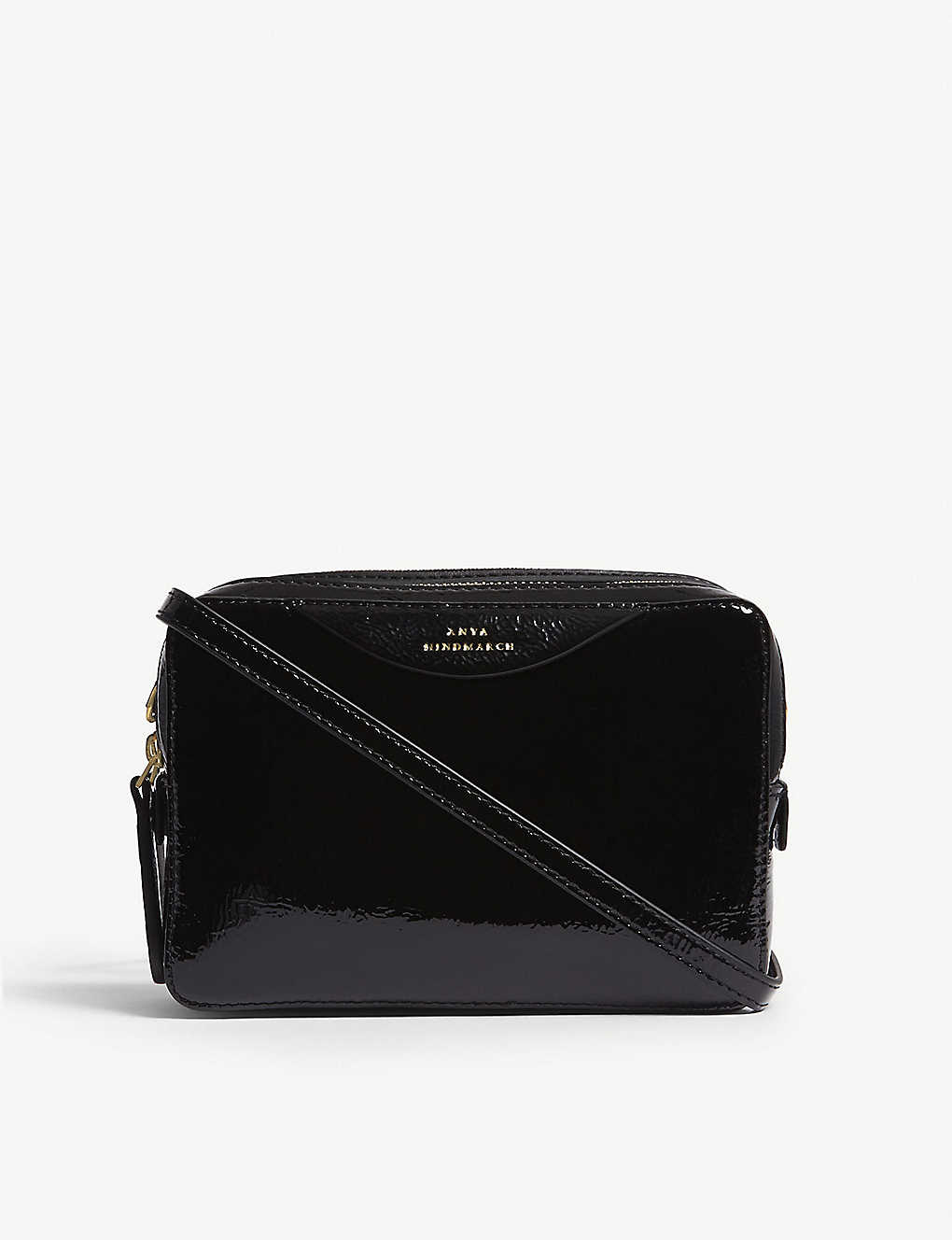 c4e525cca8 ANYA HINDMARCH - The Stack leather double wallet-on-chain ...
