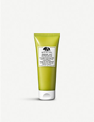 ORIGINS: Overnight Hydrating Mask with Avocado & Swiss Glacier Water 75ml