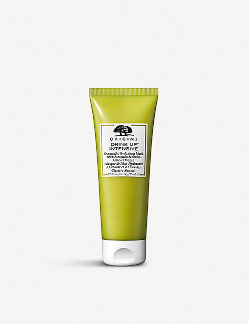 ORIGINS Overnight Hydrating Mask with Avocado & Swiss Glacier Water 75ml