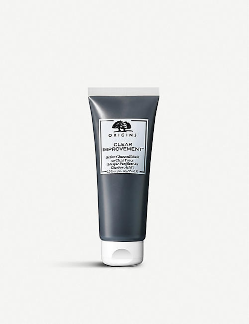 ORIGINS Clear Improvement active charcoal mask 75ml