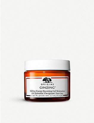 ORIGINS: Ginzing Ultra-Hydrating Energy-Boosting oil-free gel moisturiser 50ml