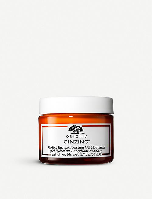 ORIGINS Ginzing Ultra-Hydrating Energy-Boosting oil-free gel moisturiser 50ml