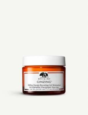 Ginzing Ultra Hydrating Energy Boosting Oil Free Gel Moisturiser 50ml by Origins