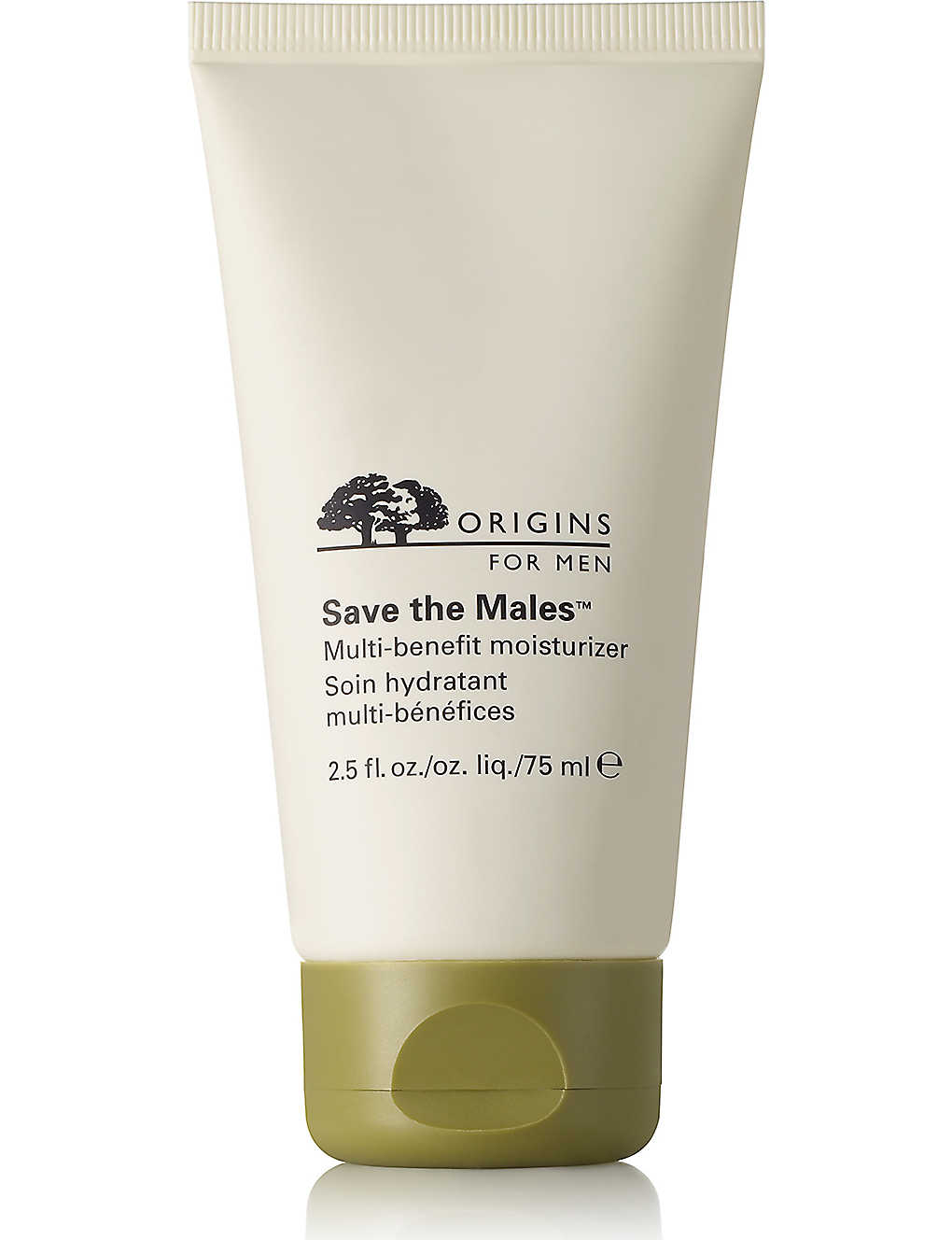 ORIGINS: Save the Males Multi–Benefit Moisturiser 75ml