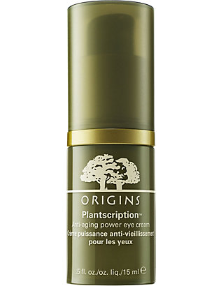 ORIGINS: Plantscription power eye cream 15ml