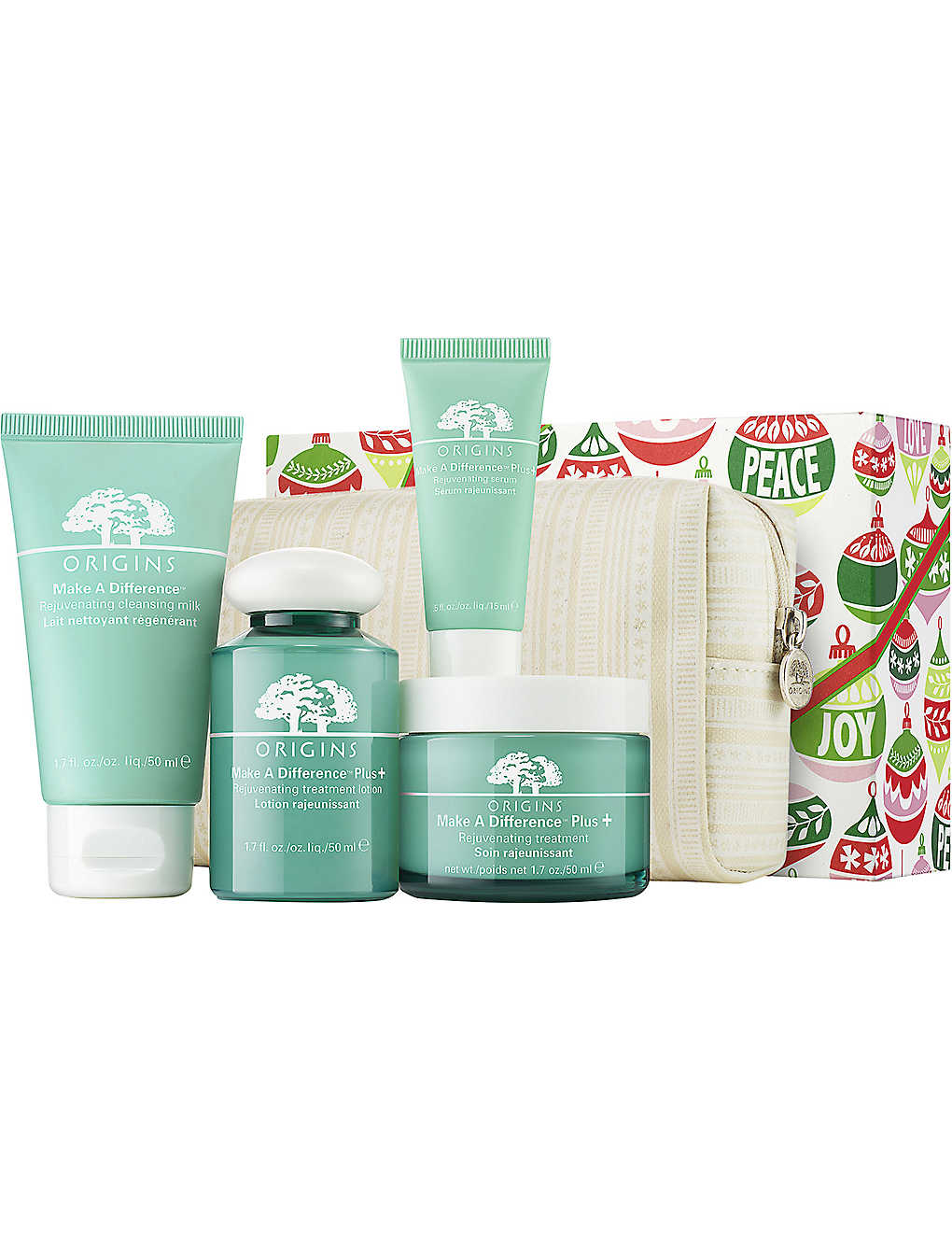 ORIGINS: Moisture and Be Merry gift set