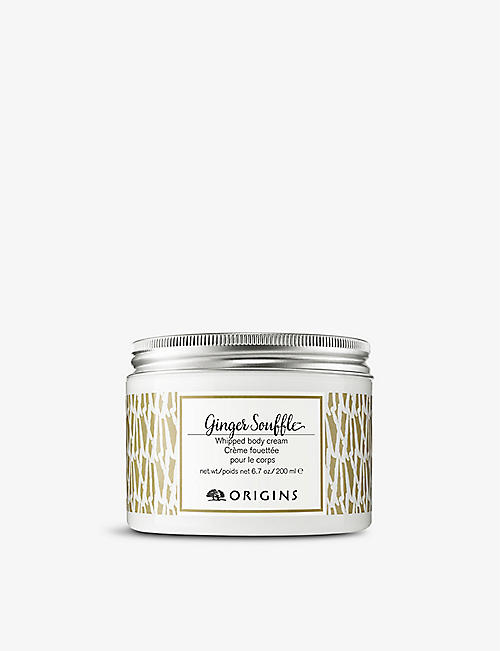 ORIGINS: Ginger Soufflé Whipped body cream 200ml
