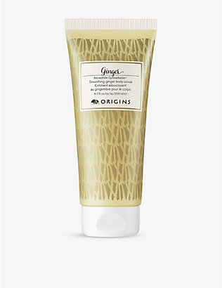 ORIGINS: Incredible spreadable ginger body scrub 200ml