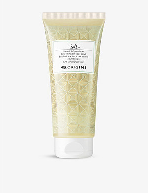 ORIGINS Incredible Spreadable Smoothing salt body scrub 200ml