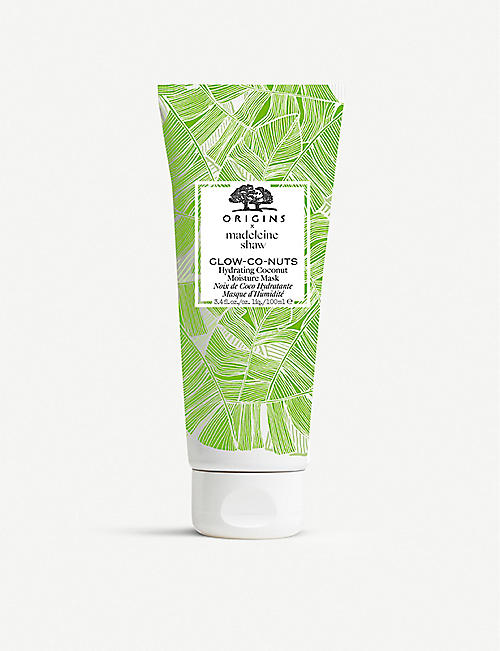 ORIGINS Origins x Madeline Shaw Glow-Co-Nuts hydrating coconut moisture mask 100ml