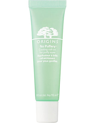ORIGINS: No Puffery cooling roll-on for puffy eyes 15ml