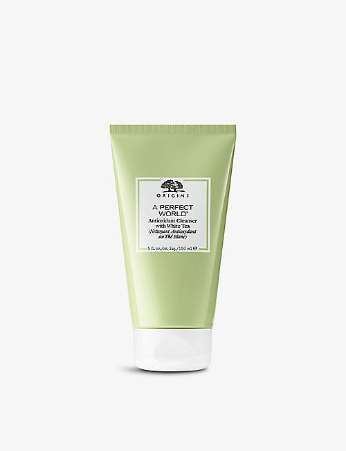 ORIGINS: A Perfect World Antioxidant cleanser with White Tea 150ml