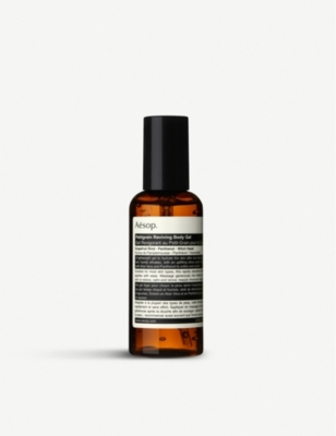 AESOP Petitgrain reviving body gel 25ml