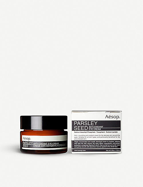 AESOP Parsley Seed antioxidant eye cream 10ml