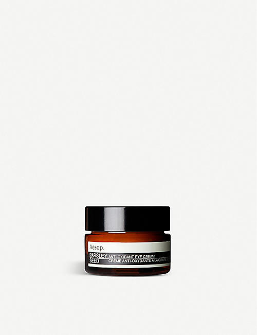 AESOP: Parsley Seed antioxidant eye cream 10ml