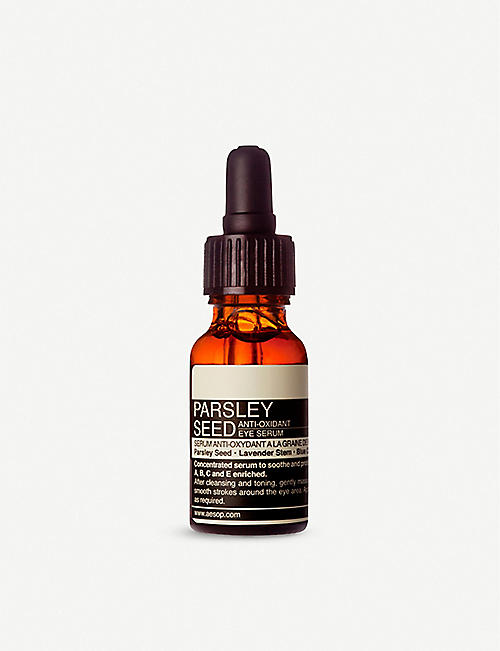 AESOP: Parsley Seed antioxidant eye serum 15ml