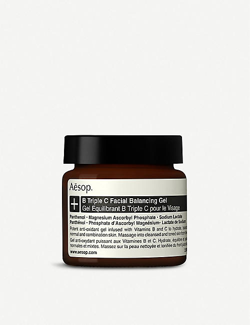 AESOP: B Triple C Facial Balancing Gel 60ml