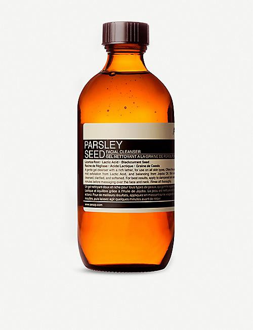 AESOP: Parsley Seed facial cleanser 200ml