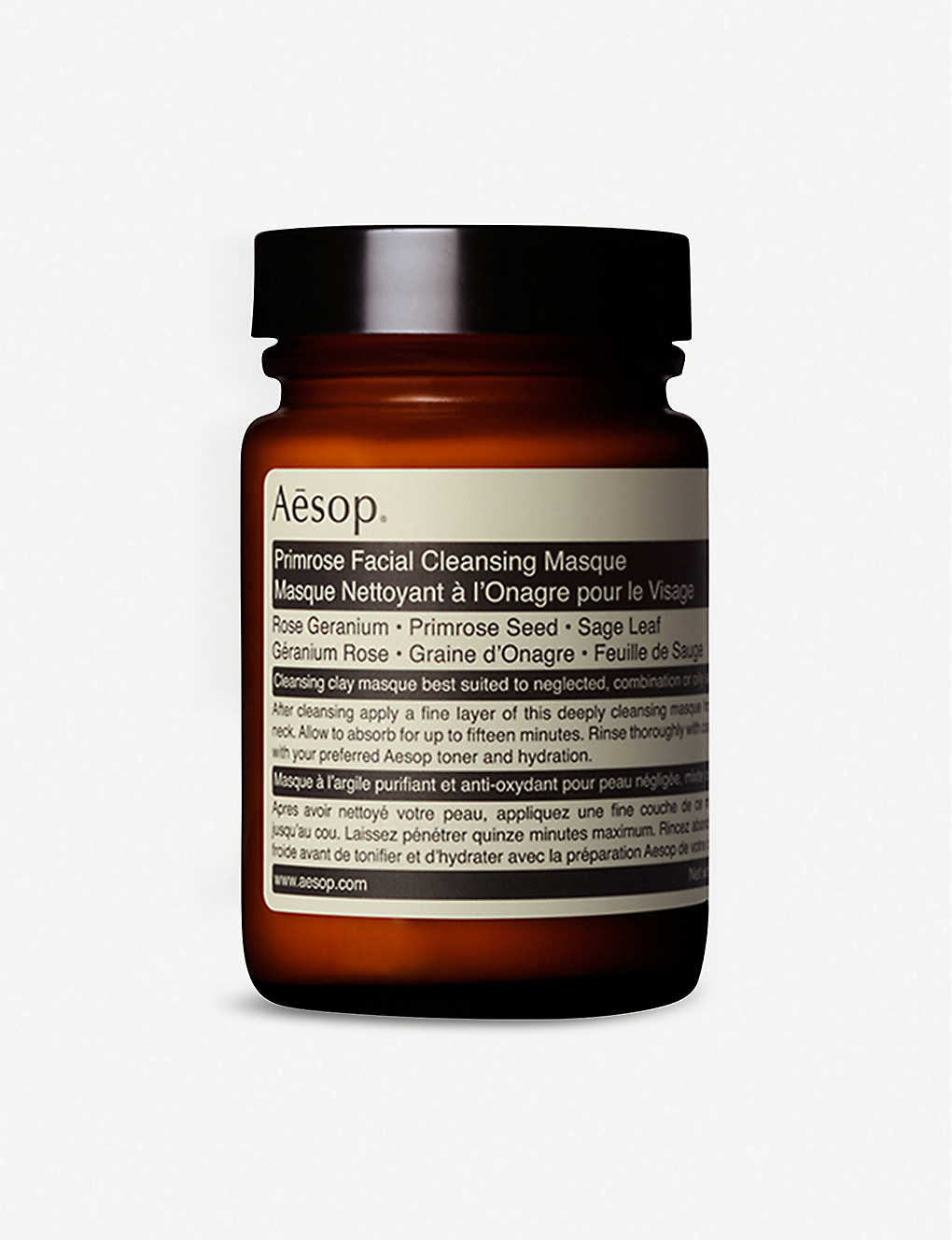 AESOP: Primrose facial cleansing masque 120ml