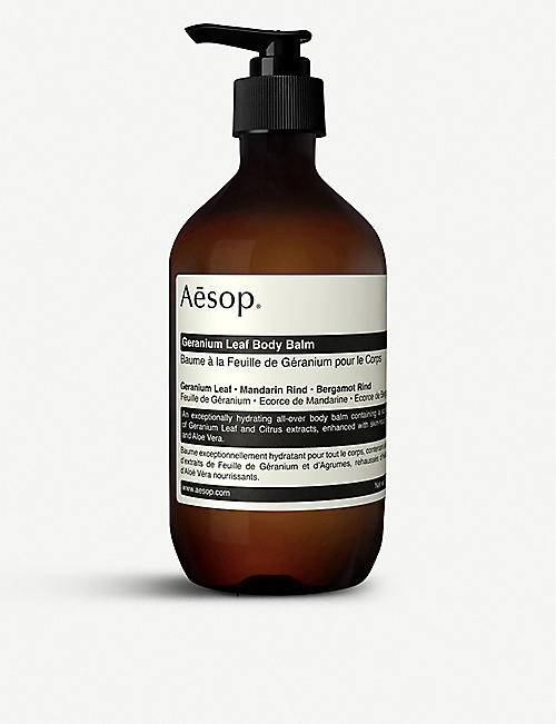 AESOP: Geranium Leaf body balm 500ml