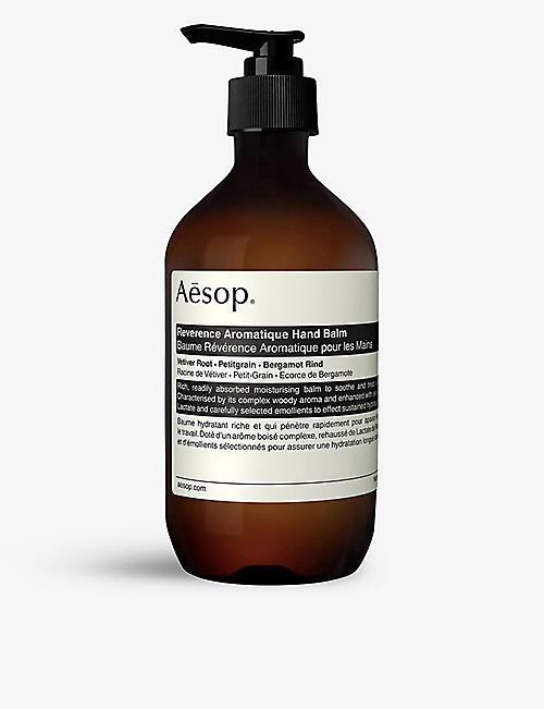 AESOP: Reverence Aromatique hand balm 500ml