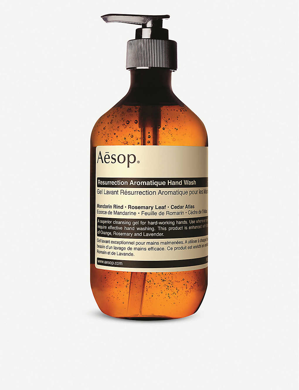 AESOP: Resurrection Aromatique hand wash 500ml