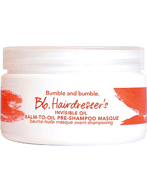BUMBLE & BUMBLE Balm-to-oil pre-shampoo masque