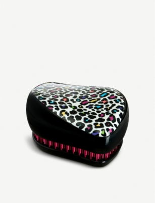 TANGLE TEEZER Leopard-print Compact Styler