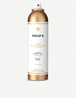 PHILIP B: Jet Set precision control hairspray 260ml