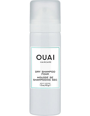 OUAI: Dry shampoo foam travel