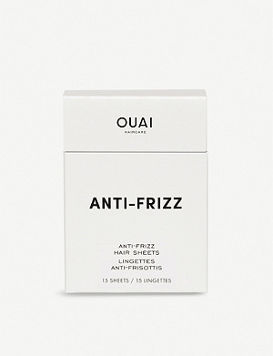 OUAI Anti-Frizz Hair Sheets x15
