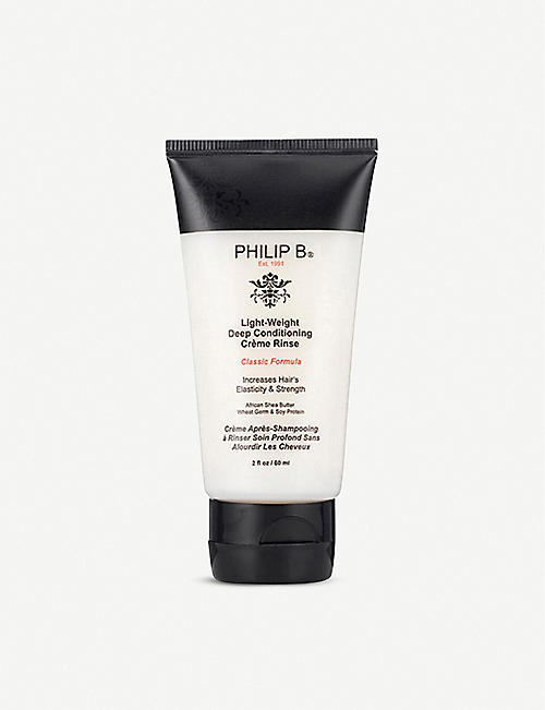 PHILIP B Light-Weight Deep Conditioning Crème Rinse 60ml