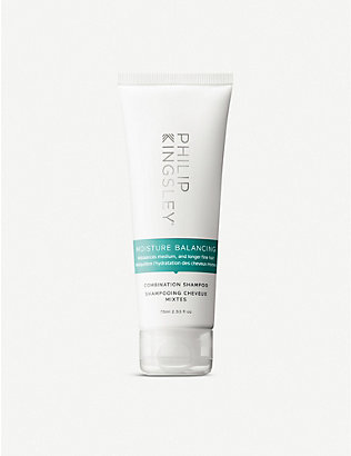 PHILIP KINGSLEY: Moisture Balancing travel shampoo 75ml