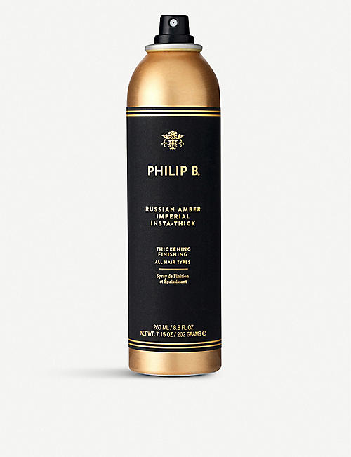 PHILIP B: Russian Amber Imperial Insta-Thick hair thickening spray 260ml