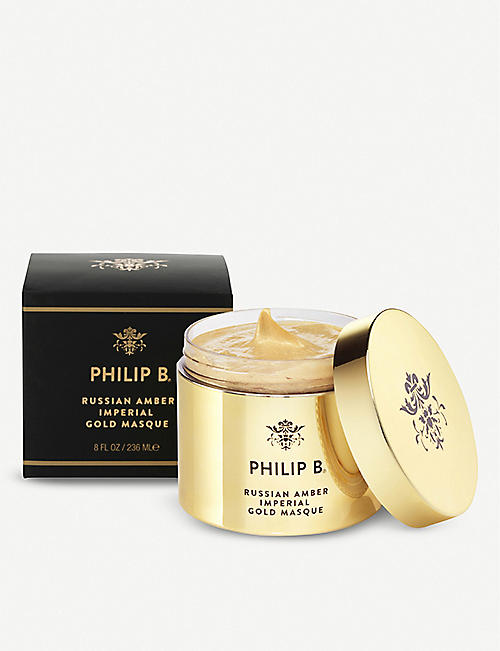 PHILIP B Russian Amber Imperial Gold hair masque 236ml