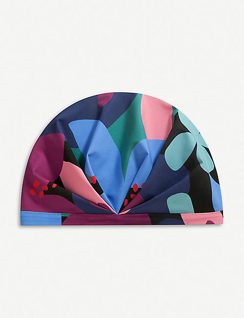 SHHHOWERCAP The Muse graphic-print shower cap