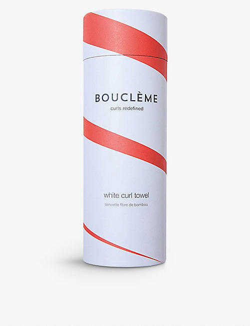 BOUCLEME Curl cotton-blend towel 95cm x 55cm